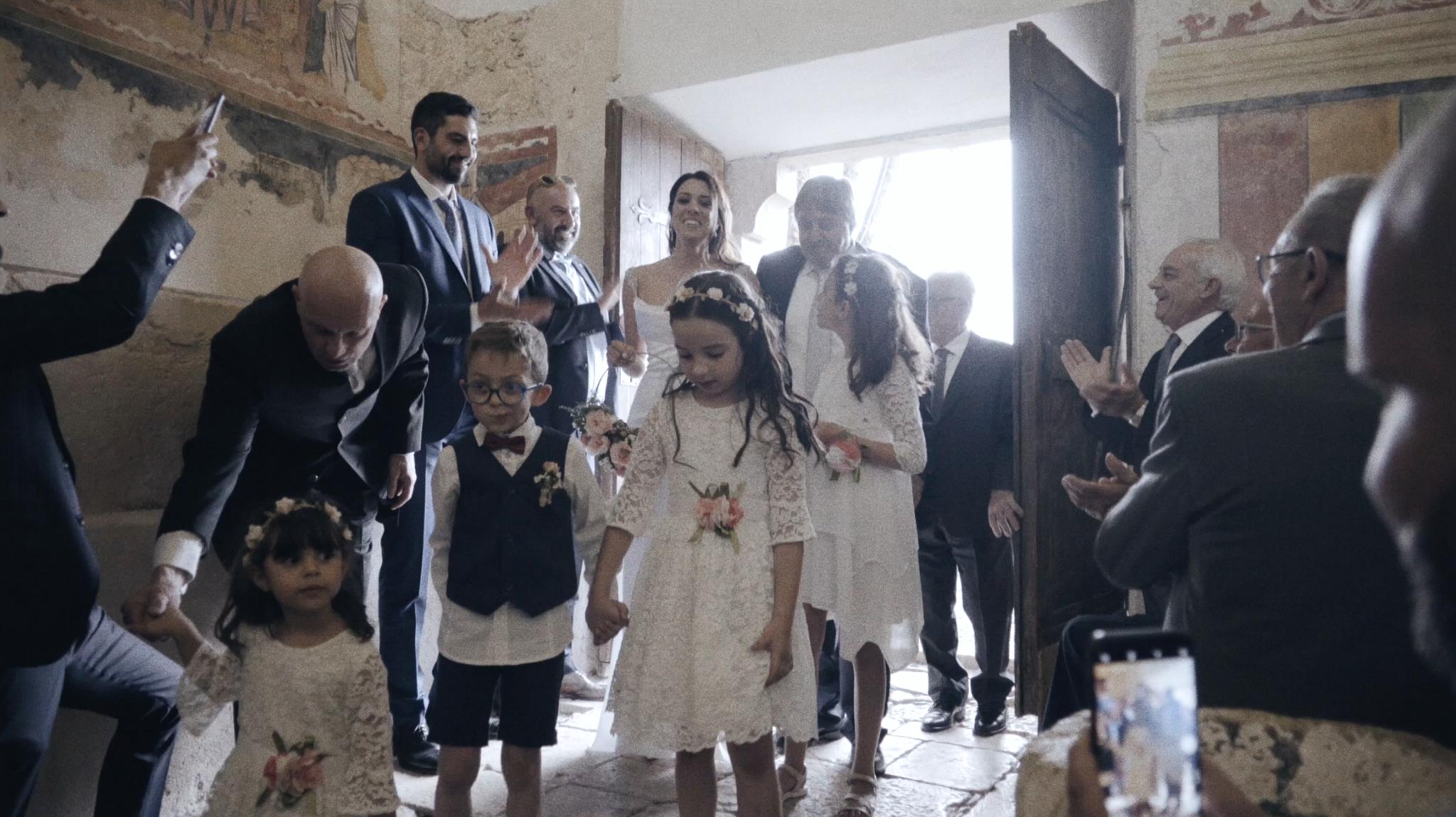Il matrimonio di Giorgio e Giulia a Ocre, L'Aquila
