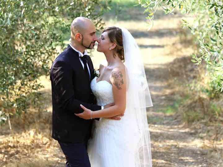 Le nozze di Maria Grazia e Gabriele