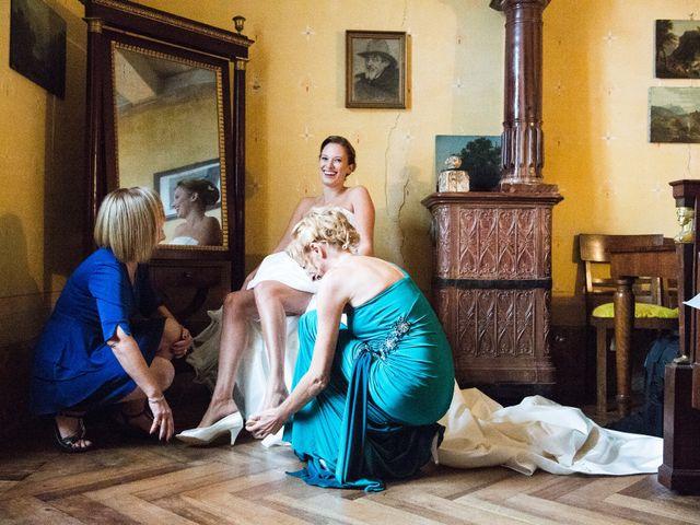 Il matrimonio di Fabio e Francesca a Ameno, Novara 14