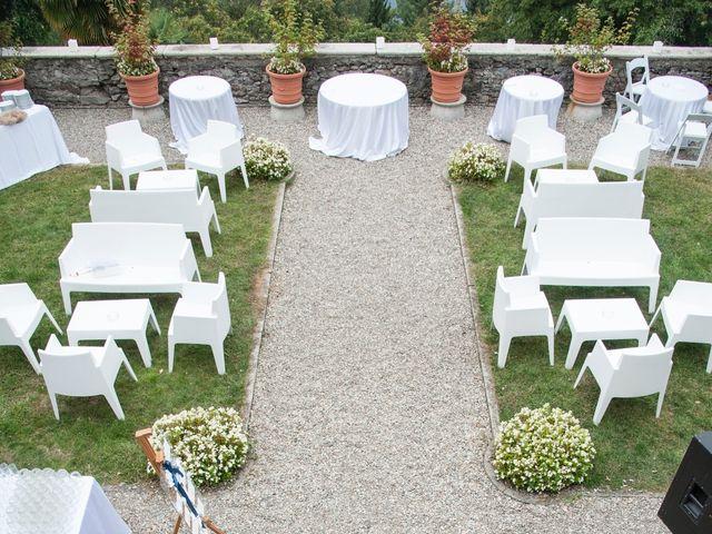 Il matrimonio di Fabio e Francesca a Ameno, Novara 25