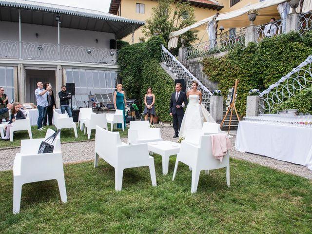 Il matrimonio di Fabio e Francesca a Ameno, Novara 28