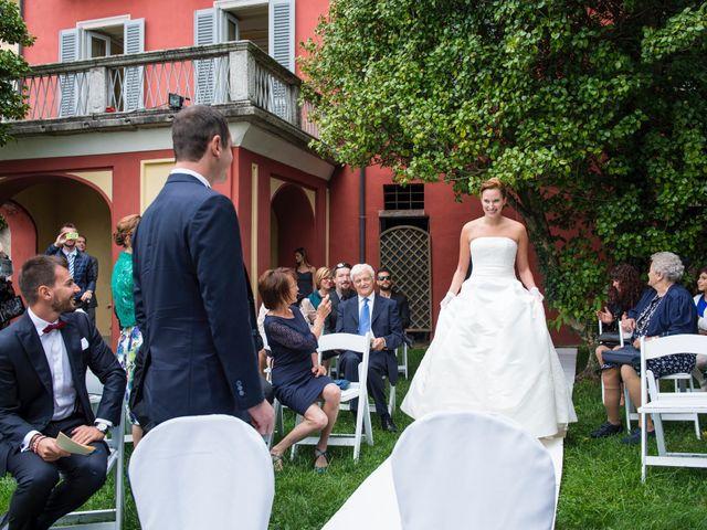 Il matrimonio di Fabio e Francesca a Ameno, Novara 30