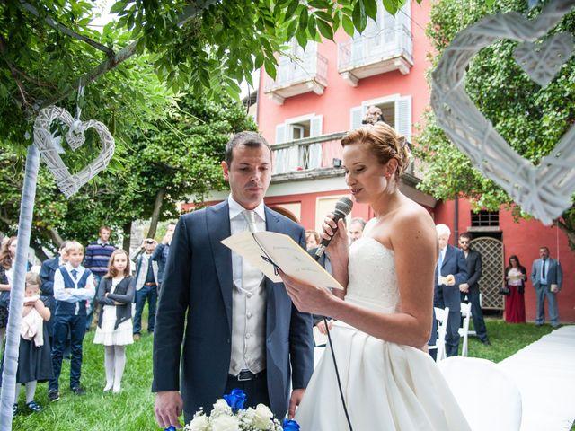Il matrimonio di Fabio e Francesca a Ameno, Novara 33