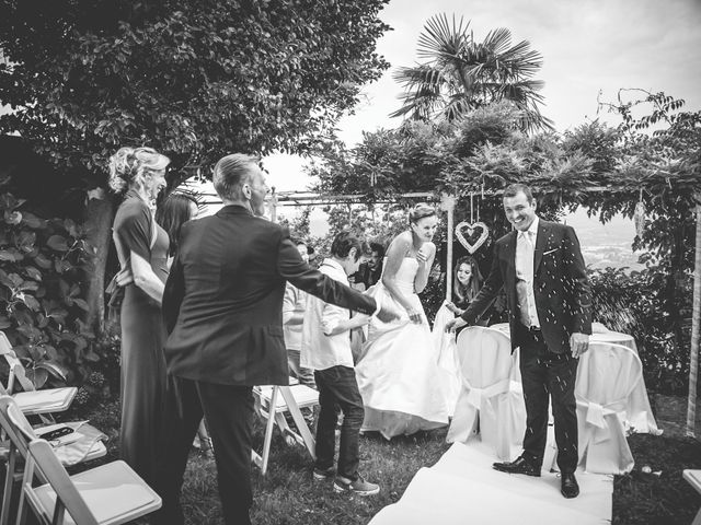 Il matrimonio di Fabio e Francesca a Ameno, Novara 34