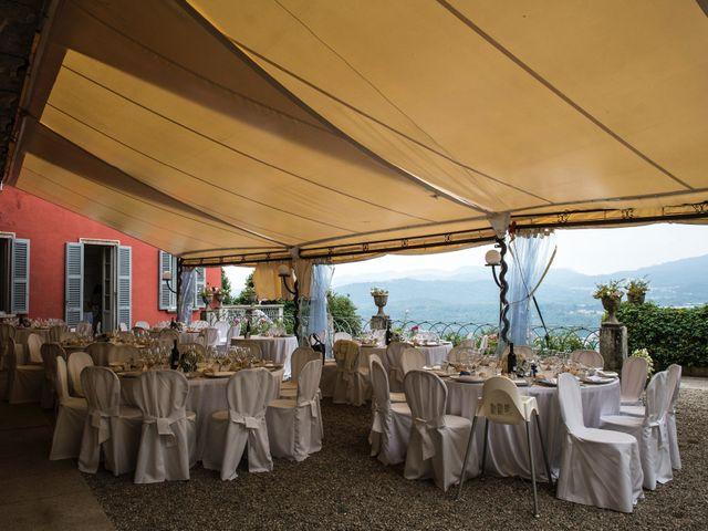 Il matrimonio di Fabio e Francesca a Ameno, Novara 48