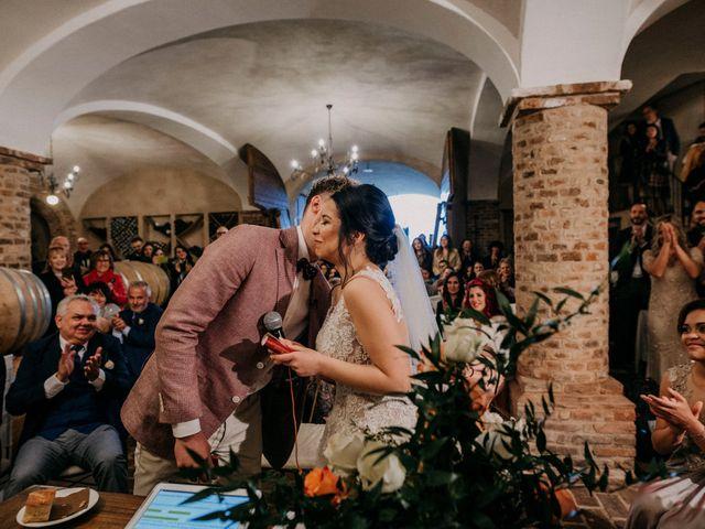 Il matrimonio di Samuel e Sharon a Monforte d'Alba, Cuneo 35
