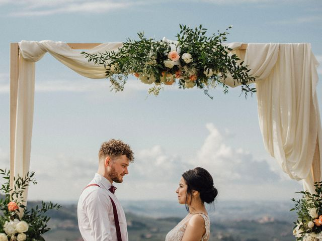 Il matrimonio di Samuel e Sharon a Monforte d'Alba, Cuneo 37
