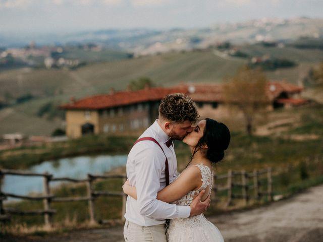 Il matrimonio di Samuel e Sharon a Monforte d'Alba, Cuneo 41