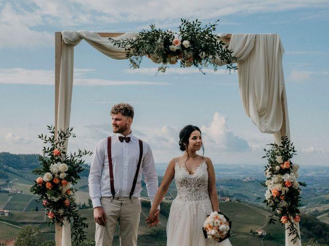 Il matrimonio di Samuel e Sharon a Monforte d'Alba, Cuneo 44