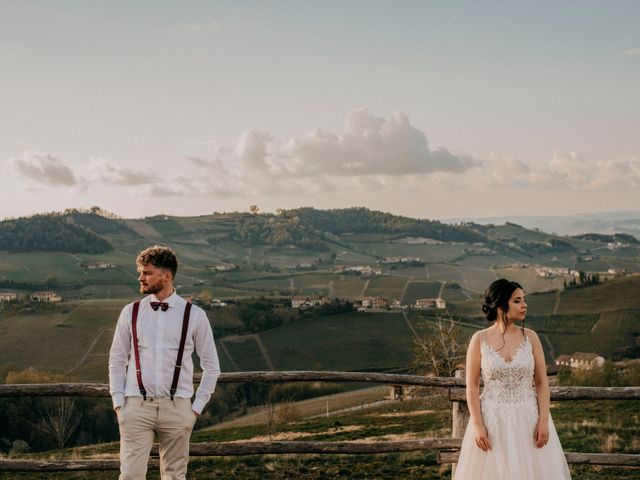 Il matrimonio di Samuel e Sharon a Monforte d'Alba, Cuneo 51