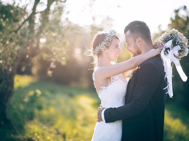 Le nozze di Chiara e Fabio