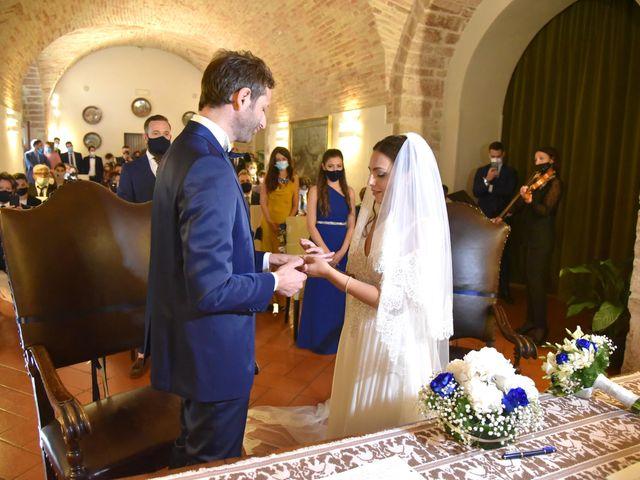 Il matrimonio di Davide e Giovanna a Gubbio, Perugia 37