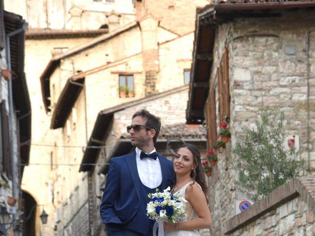 Il matrimonio di Davide e Giovanna a Gubbio, Perugia 44