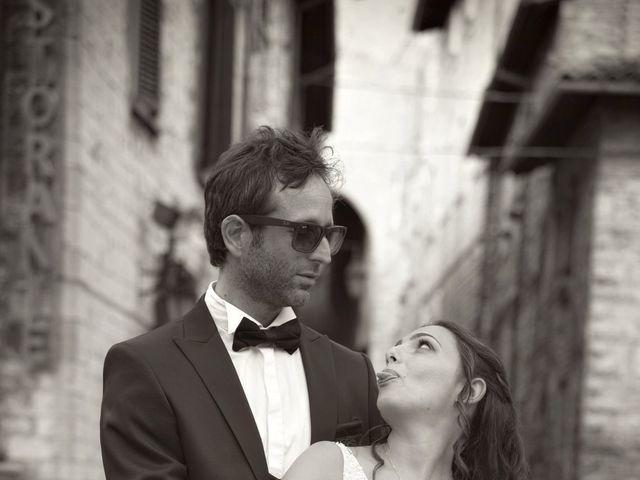 Il matrimonio di Davide e Giovanna a Gubbio, Perugia 45
