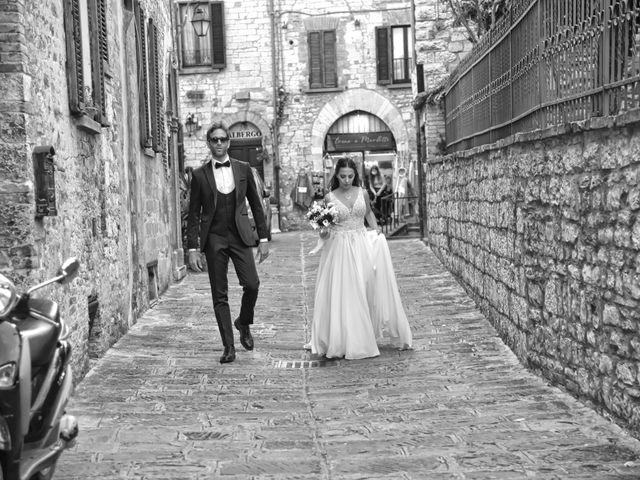 Il matrimonio di Davide e Giovanna a Gubbio, Perugia 46