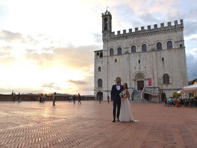 Il matrimonio di Davide e Giovanna a Gubbio, Perugia 53