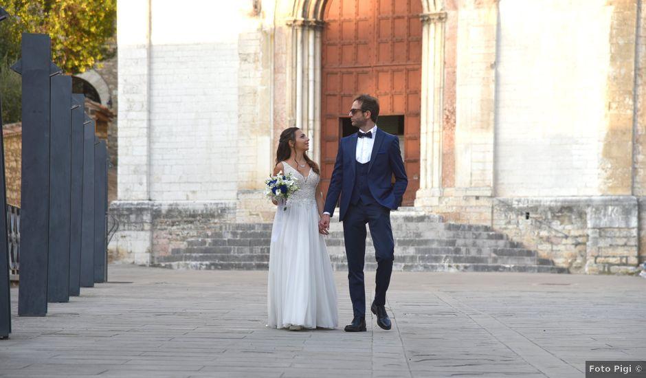 Il matrimonio di Davide e Giovanna a Gubbio, Perugia