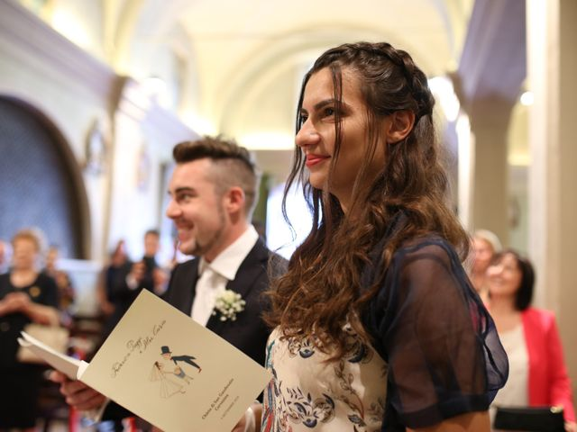 Il matrimonio di Alex e Federica a Cervesina, Pavia 15