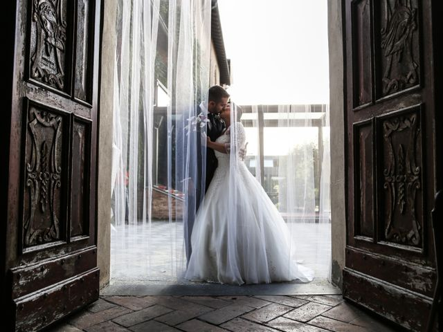 Il matrimonio di Alex e Federica a Cervesina, Pavia 22