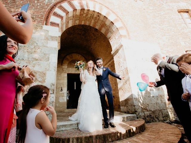 Il matrimonio di Alessio e Claudia a Chiusdino, Siena 2