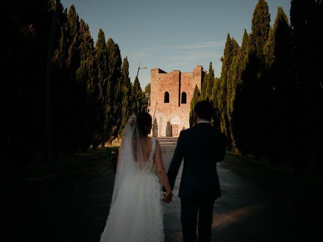 Il matrimonio di Alessio e Claudia a Chiusdino, Siena 6