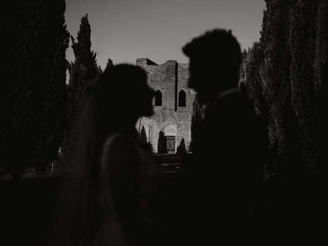 Il matrimonio di Alessio e Claudia a Chiusdino, Siena 7