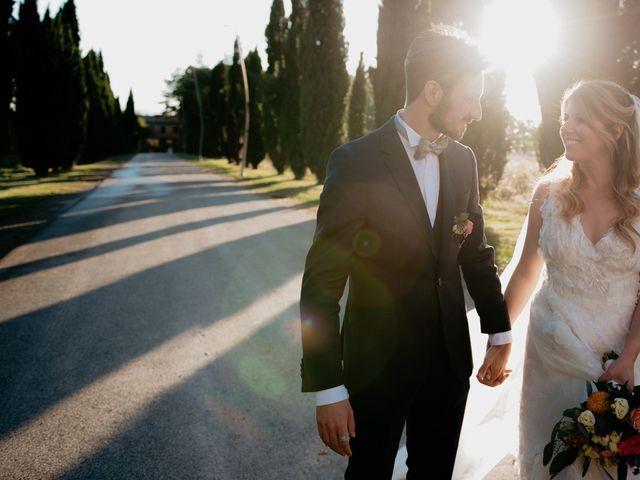 Il matrimonio di Alessio e Claudia a Chiusdino, Siena 9