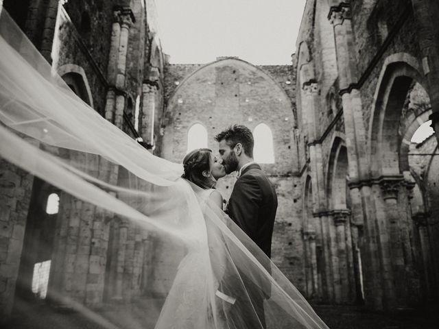 Il matrimonio di Alessio e Claudia a Chiusdino, Siena 12