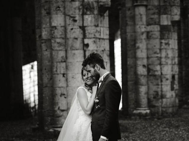 Il matrimonio di Alessio e Claudia a Chiusdino, Siena 13