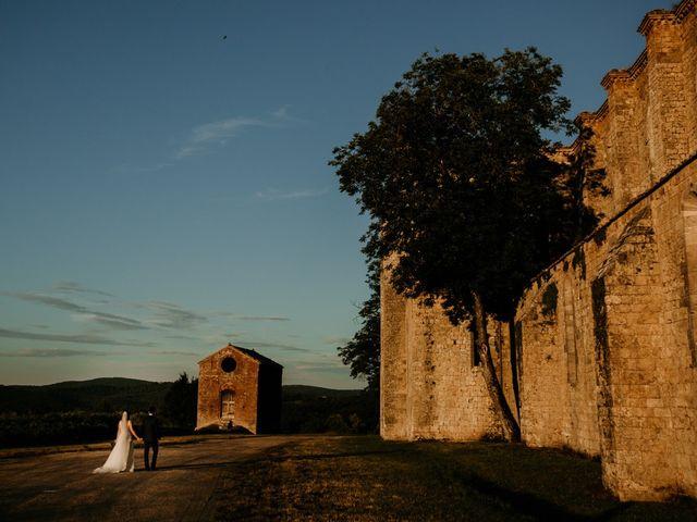 Il matrimonio di Alessio e Claudia a Chiusdino, Siena 21