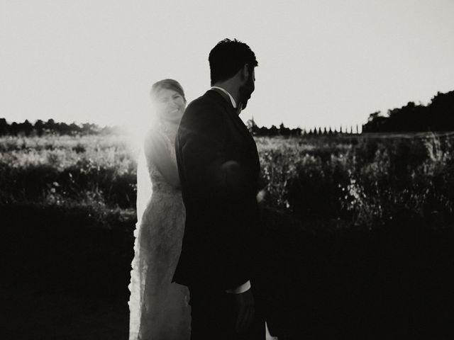 Il matrimonio di Alessio e Claudia a Chiusdino, Siena 27