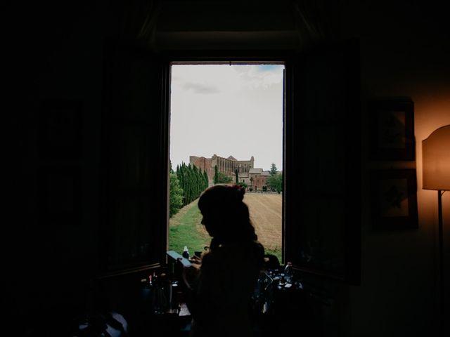 Il matrimonio di Alessio e Claudia a Chiusdino, Siena 71