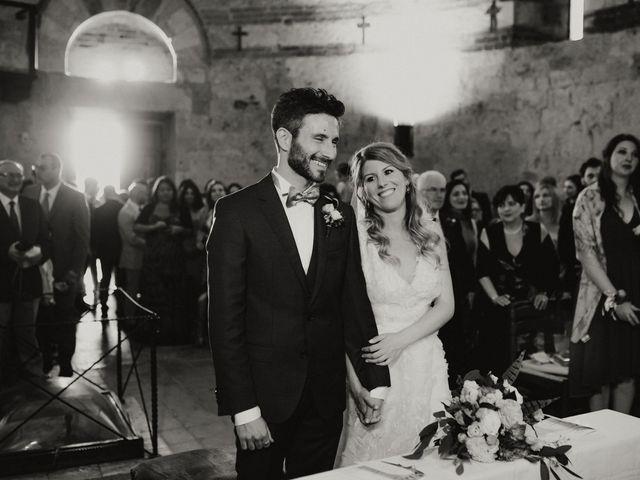Il matrimonio di Alessio e Claudia a Chiusdino, Siena 92