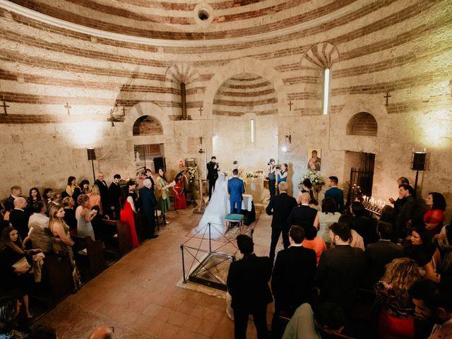 Il matrimonio di Alessio e Claudia a Chiusdino, Siena 100