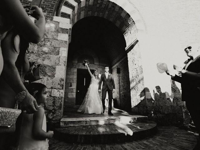 Il matrimonio di Alessio e Claudia a Chiusdino, Siena 111