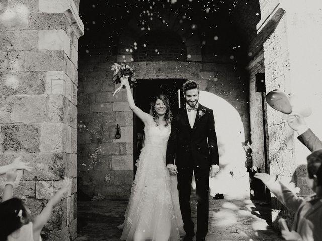 Il matrimonio di Alessio e Claudia a Chiusdino, Siena 112