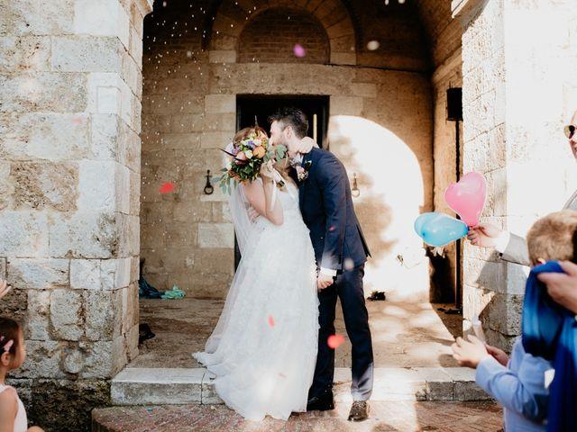Il matrimonio di Alessio e Claudia a Chiusdino, Siena 114