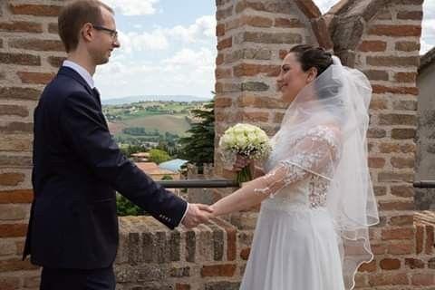 Il matrimonio di Christian e Raffaela a Corinaldo, Ancona 2