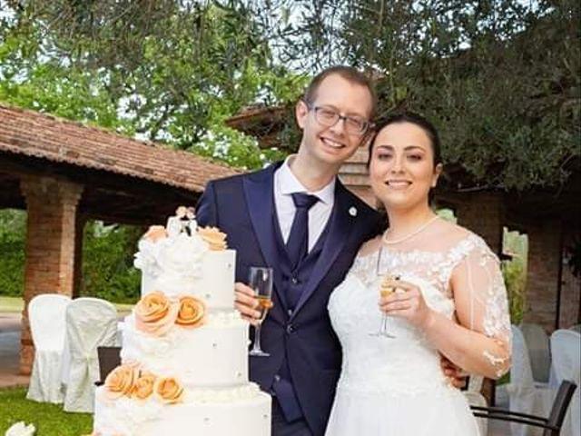Il matrimonio di Christian e Raffaela a Corinaldo, Ancona 6