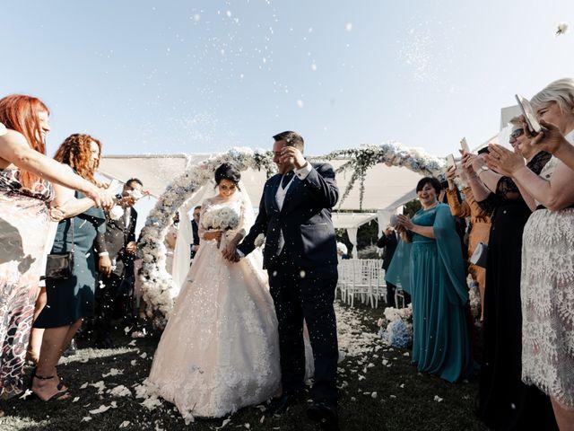 Le nozze di Alexandra e Daniele