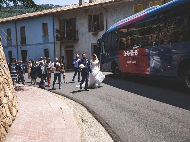 Il matrimonio di Massimiliano e Paola a Tonara, Nuoro 14