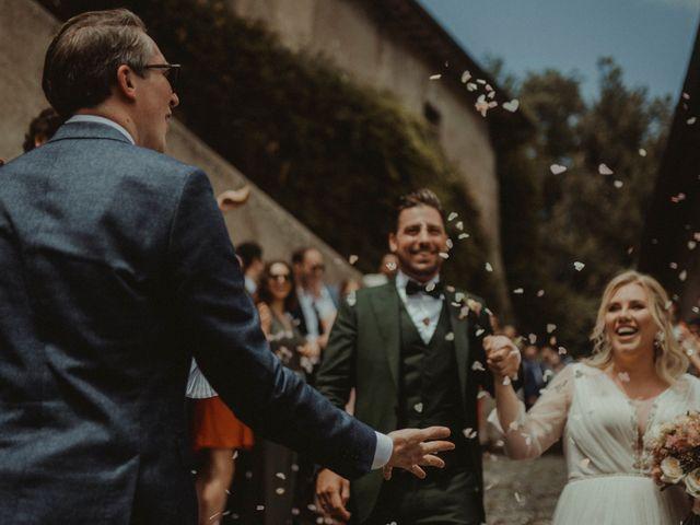 Il matrimonio di Max e Caroline a Roma, Roma 90