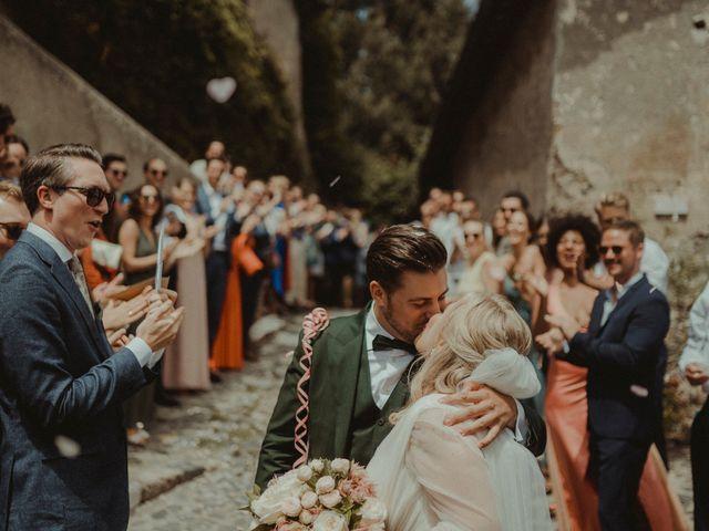 Il matrimonio di Max e Caroline a Roma, Roma 93