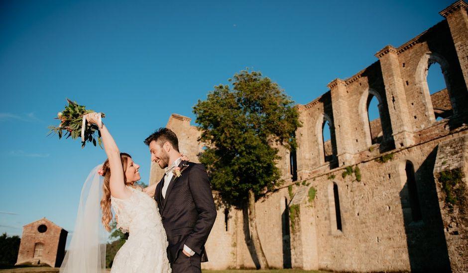 Il matrimonio di Alessio e Claudia a Chiusdino, Siena