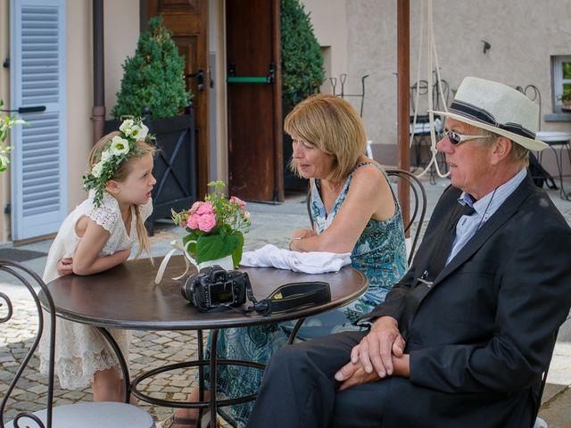 Il matrimonio di Jarle e Hedvig a La Morra, Cuneo 18
