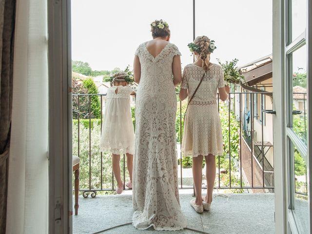 Il matrimonio di Jarle e Hedvig a La Morra, Cuneo 26