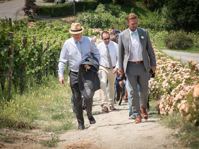 Il matrimonio di Jarle e Hedvig a La Morra, Cuneo 28