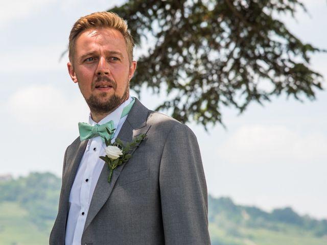 Il matrimonio di Jarle e Hedvig a La Morra, Cuneo 31