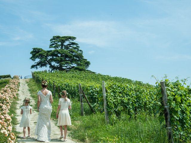 Il matrimonio di Jarle e Hedvig a La Morra, Cuneo 37