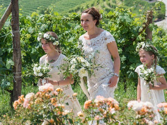 Il matrimonio di Jarle e Hedvig a La Morra, Cuneo 39